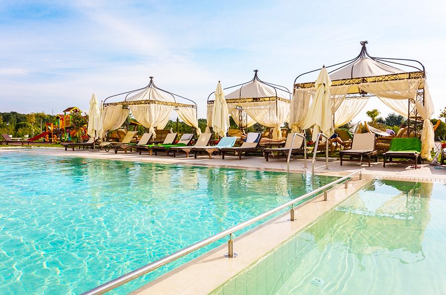 5+ нощувки на човек на база All inclusive + минерални басейни, СПА, чадър и шезлонг на плажа от Балнеохотел Терма Палас 5*, Кранево. Дете до 11.99г. - безплатно, снимка 4