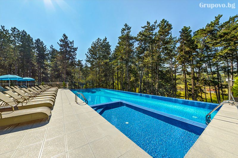 Делнична нощувка за ДВАМА със закуска + минерални басейни и СПА в Инфинити Парк Хотел и СПА****, Велинград, снимка 38
