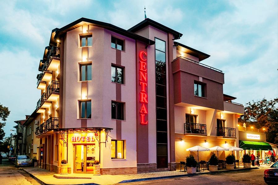 Хотел Централ, Павел баня