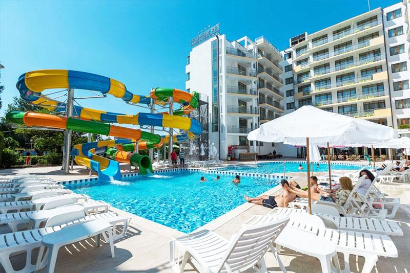 Великден в Слънчев бряг.  2 или повече нощувки на човек на база All Inclusive Plus + басейн и аквапарк в хотел Бест Уестърн Премиум Ин****. Дете до 11.99г. - БЕЗПЛАТНО, снимка 2