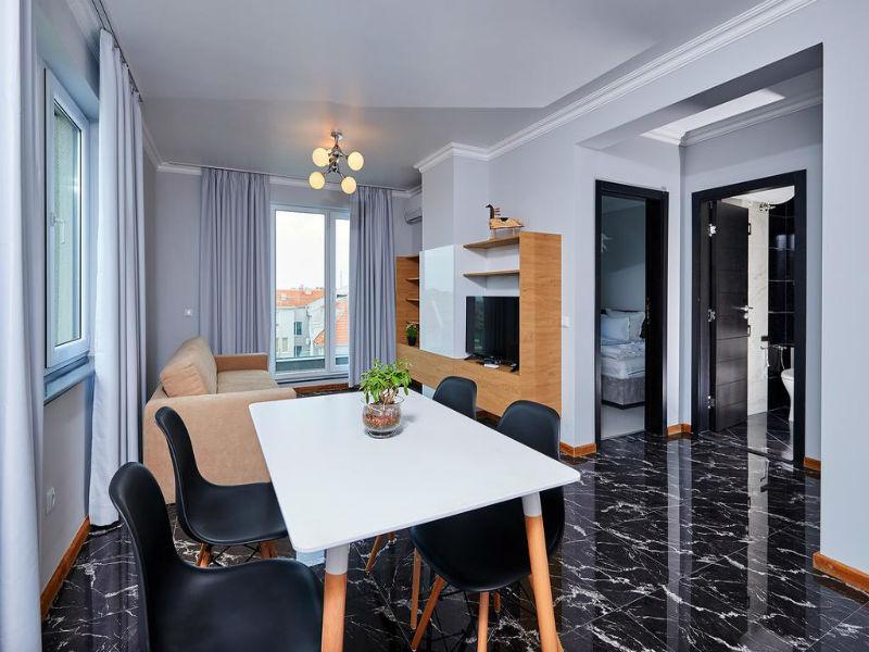 Нощувка в апартамент с капацитете 6 или 8 човека, на 10м. от плажа в Ботабара дел Мар Апартмънтс, Поморие, снимка 14