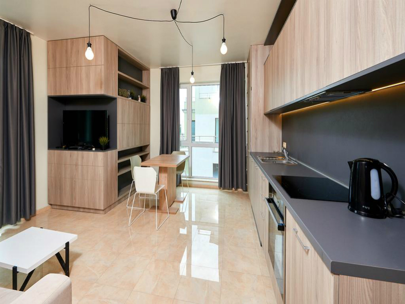 Нощувка за до петима в апартамент с 1 или 2 спални от Атлантик Апартментс, Поморие, снимка 11