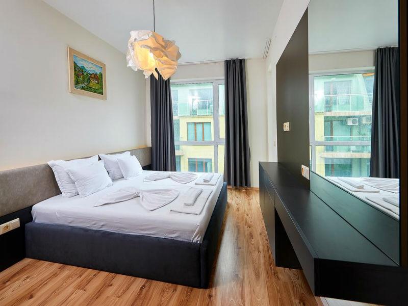 Нощувка за до петима в апартамент с 1 или 2 спални от Атлантик Апартментс, Поморие, снимка 10