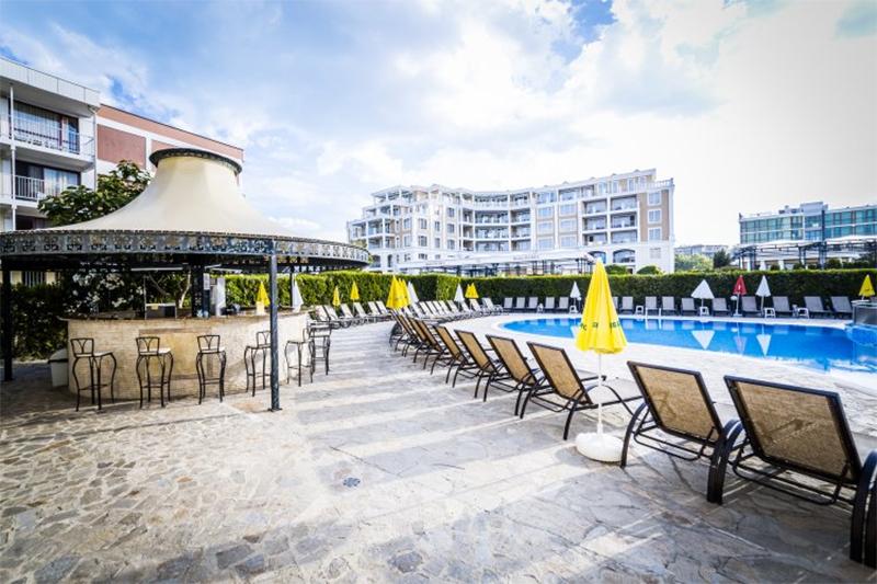 Нощувка на човек на база All Inclusive + басейн на 50 м. от плажа в хотел Кавказ Голдън Дюн****, Слънчев Бряг, снимка 11