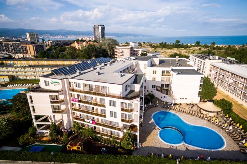 Нощувка на човек на база All Inclusive + басейн на 50 м. от плажа в хотел Кавказ Голдън Дюн****, Слънчев Бряг, снимка 3