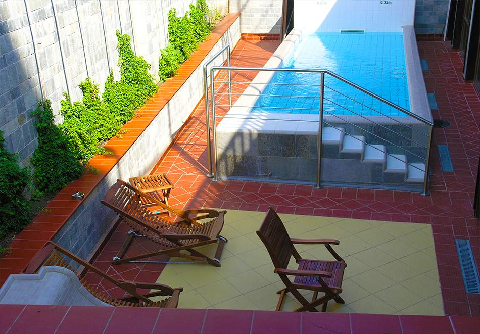 1 или 2 нощувки на човек със закуски и вечери + топъл басейн и СПА в хотел 7 Пулс & СПА Апартмънтс, Банско, снимка 16