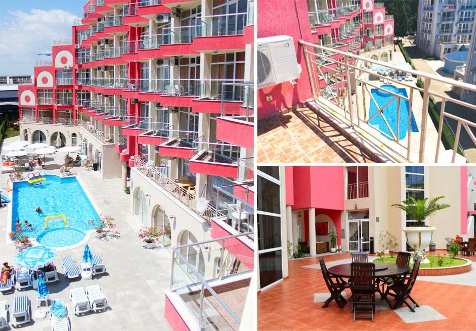 Апарт хотел Роуз Гардън, Слънчев бряг