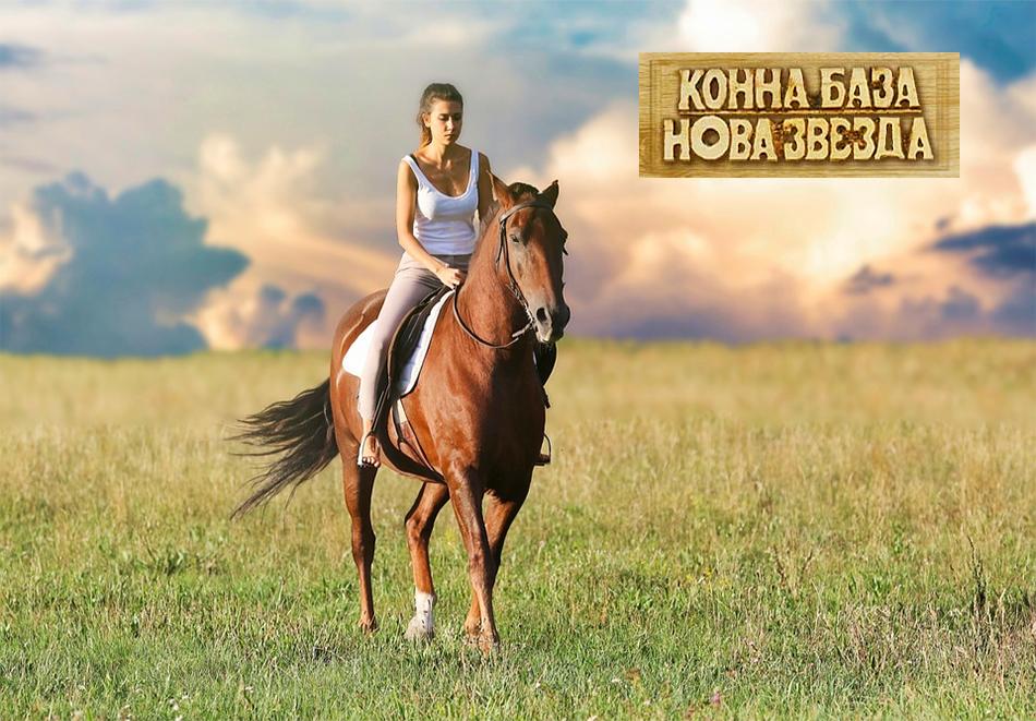20 или 30 мин. конна езда в гората или на манеж от конна база Нова Звезда, София, снимка 2