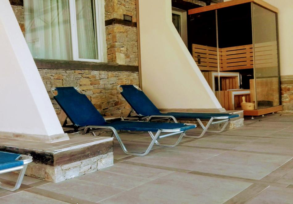 Нощувка със закуска, вечеря* на човек + вътрешен минеранел басейн и сауна в хотел Панорама*** , Сандански, снимка 4