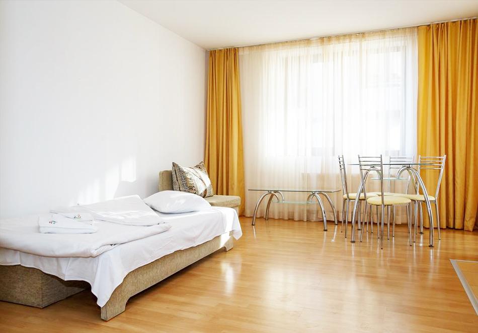 Нощувка на човек със закуска и вечеря* + басейн и релакс пакет в хотел Маунтин Парадайс край Орехите***, Банско, снимка 11