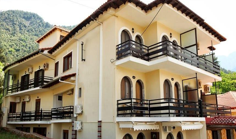 Семеен хотел Memories Villa, Скала Потамия, о.Тасос, Гърция