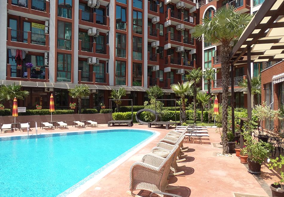 Апартаментен комплекс Шато Дел Марина, между Равда и Несебър, снимка 7