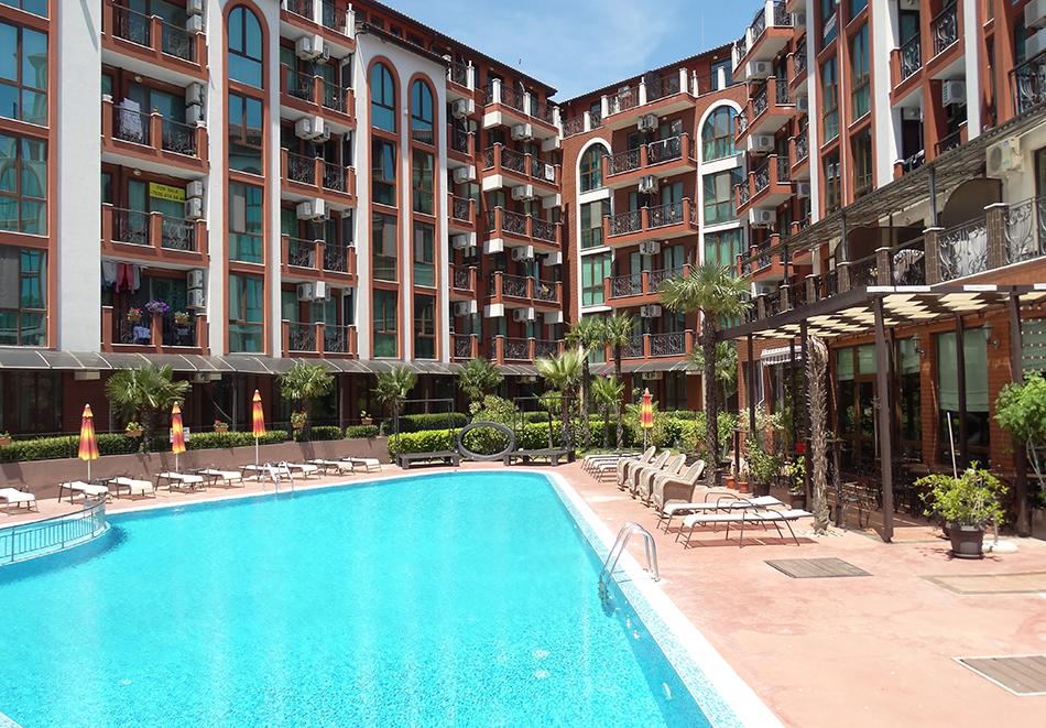 Апартаментен комплекс Шато Дел Марина, между Равда и Несебър, снимка 10