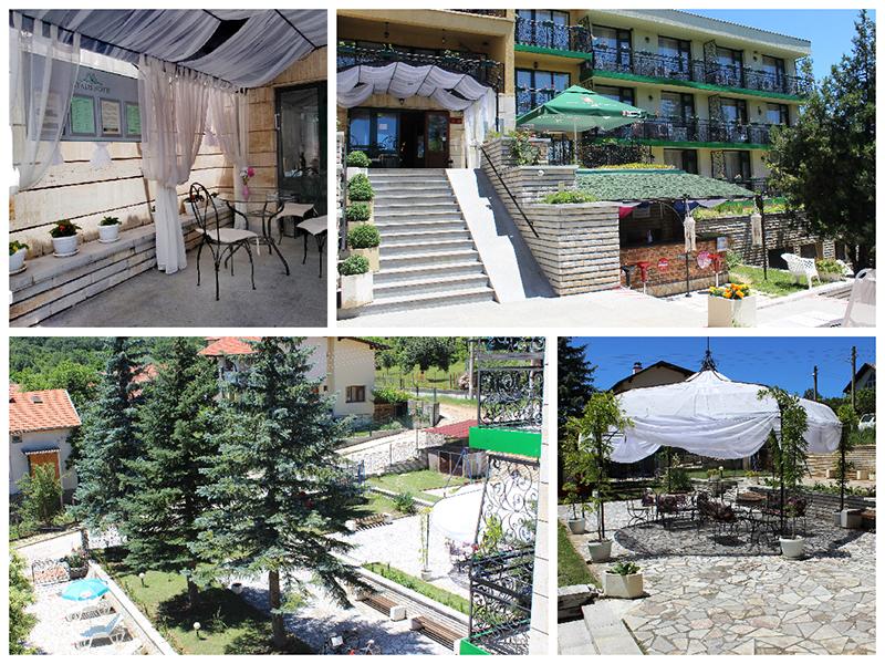 Нощувка със закуска за ДВАМА + външен и вътрешен басейн с гореща минерална вода и сауна от хотел Виталис, Пчелински бани, до Костенец, снимка 25