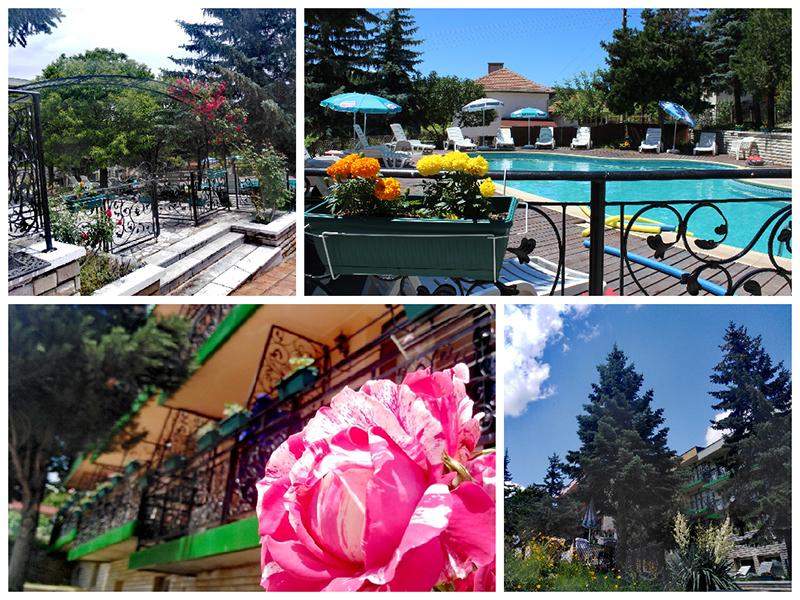 Нощувка със закуска за ДВАМА + външен и вътрешен басейн с гореща минерална вода и сауна от хотел Виталис, Пчелински бани, до Костенец, снимка 21
