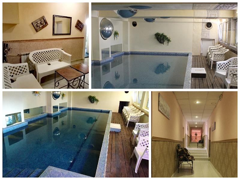 Нощувка със закуска за ДВАМА + външен и вътрешен басейн с гореща минерална вода и сауна от хотел Виталис, Пчелински бани, до Костенец, снимка 17