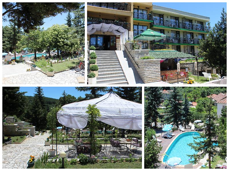 Нощувка със закуска за ДВАМА + външен и вътрешен басейн с гореща минерална вода и сауна от хотел Виталис, Пчелински бани, до Костенец, снимка 14