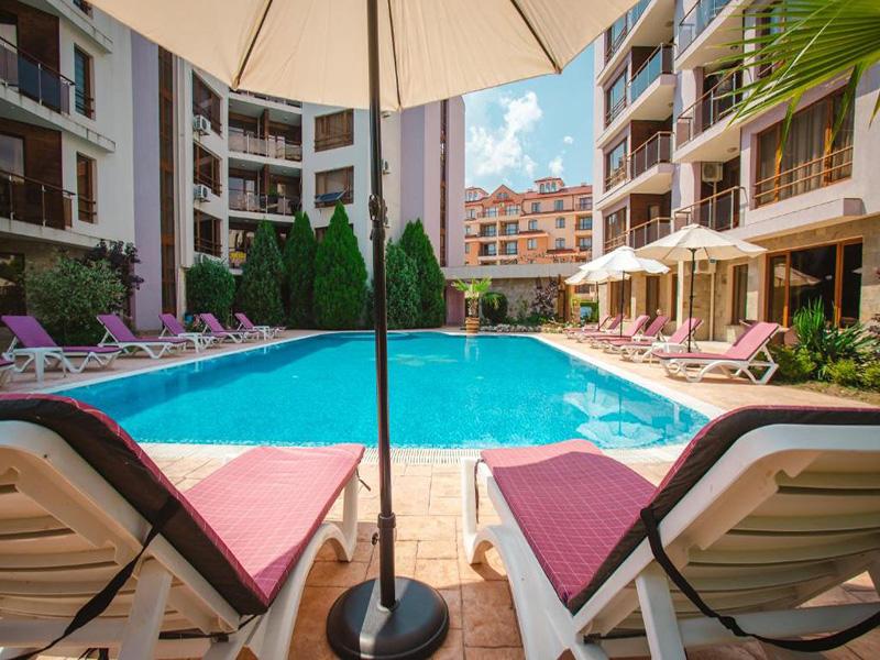 Нощувка на човек в Апарт хотел Магнолия Гардън, Слънчев бряг, снимка 3