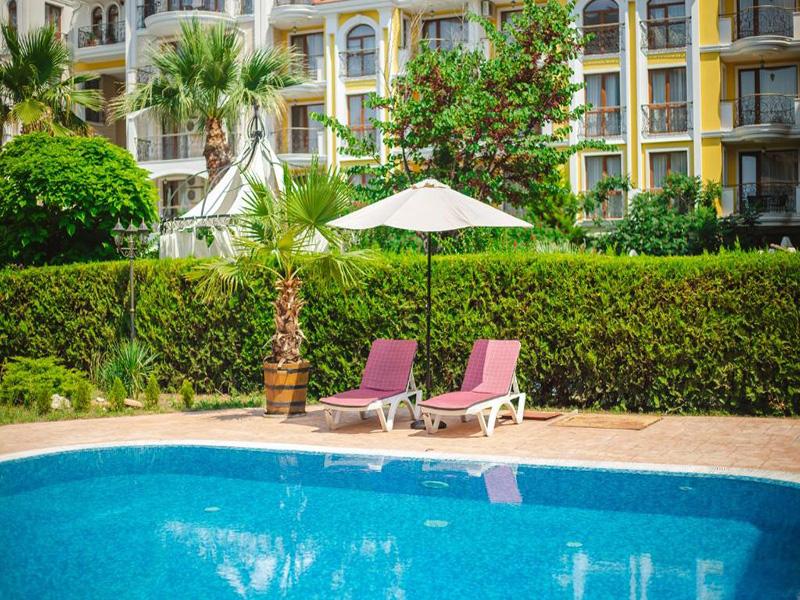 Нощувка на човек в Апарт хотел Магнолия Гардън, Слънчев бряг, снимка 12