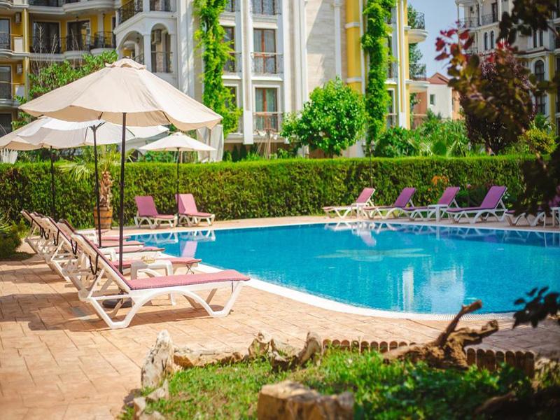 Нощувка на човек в Апарт хотел Магнолия Гардън, Слънчев бряг, снимка 10
