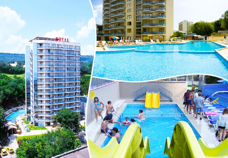 Нощувка на човек на база All Inclusive + басейн в хотел Роял****, Златни Пясъци! Дете до 12г. - БЕЗПЛАТНО!, снимка 2