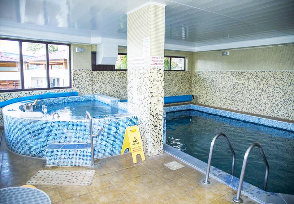 Великден в Сапарева баня! 3 или 4 нощувки на човек със закуски и вечери + празничен обяд + вътрешен басейн и релакс зона с минерална вода от Семеен хотел Емали, снимка 4