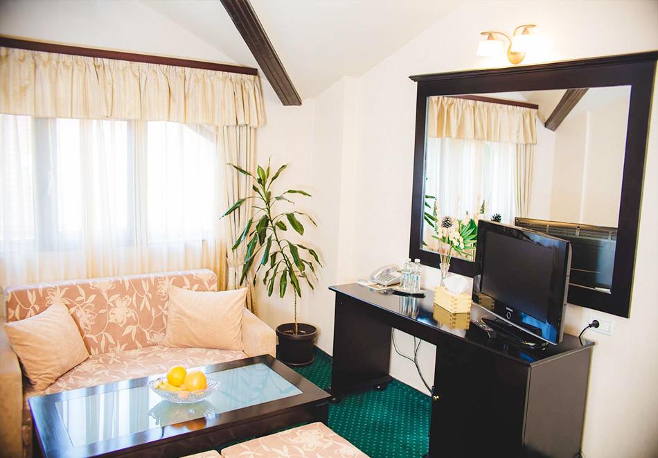 Нощувка, закуска и вечеря на човек + минерален басейн и релакс пакет в бутиков хотел Шипково, Шипковски минерални бани, снимка 12