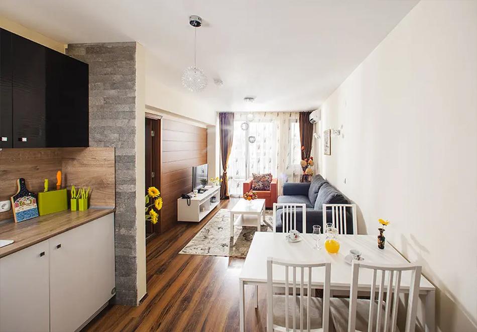 Нощувка, закуска и вечеря на човек + басейн и релакс зона в хотел Сейнт Джордж Ски & Холидей****, Банско, снимка 18