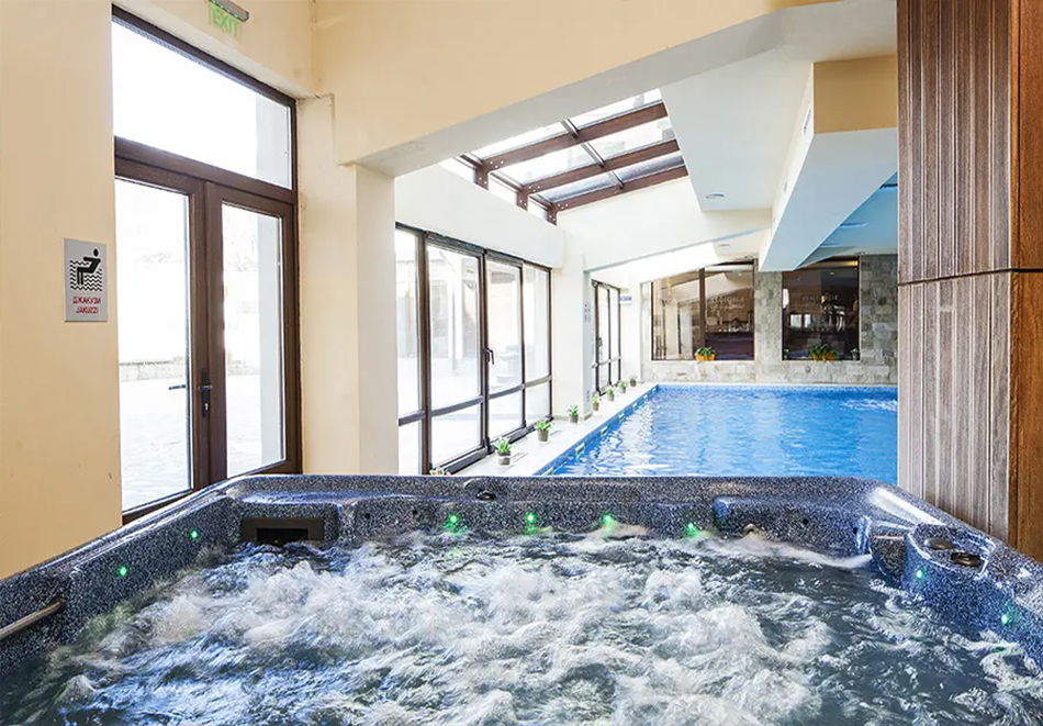 Нощувка, закуска и вечеря на човек + басейн и релакс зона в хотел Сейнт Джордж Ски & Холидей****, Банско, снимка 5