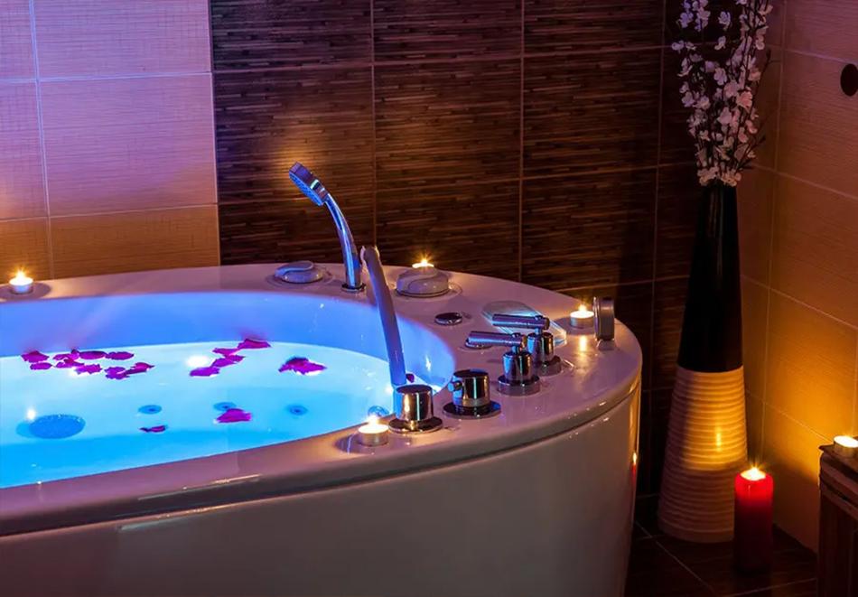 Нощувка, закуска и вечеря на човек + басейн и релакс зона в хотел Сейнт Джордж Ски & Холидей****, Банско, снимка 10