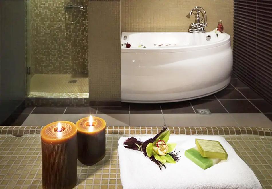 Нощувка, закуска и вечеря на човек + басейн и релакс зона в хотел Сейнт Джордж Ски & Холидей****, Банско, снимка 7