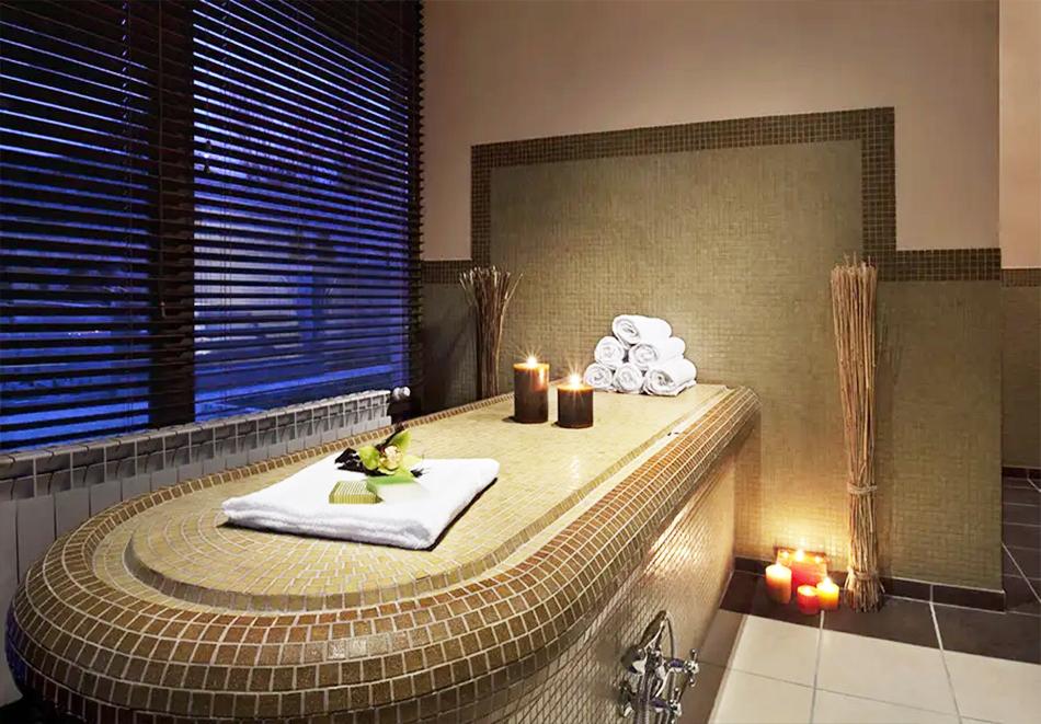 Нощувка, закуска и вечеря на човек + басейн и релакс зона в хотел Сейнт Джордж Ски & Холидей****, Банско, снимка 6