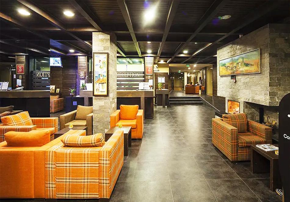 Нощувка, закуска и вечеря на човек + басейн и релакс зона в хотел Сейнт Джордж Ски & Холидей****, Банско, снимка 23