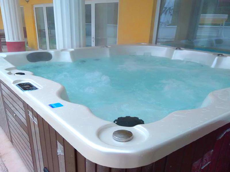 2+ нощувки на човек със закуски и вечери + минерален басейн и релакс зона от хотел Алексион Палас, снимка 14