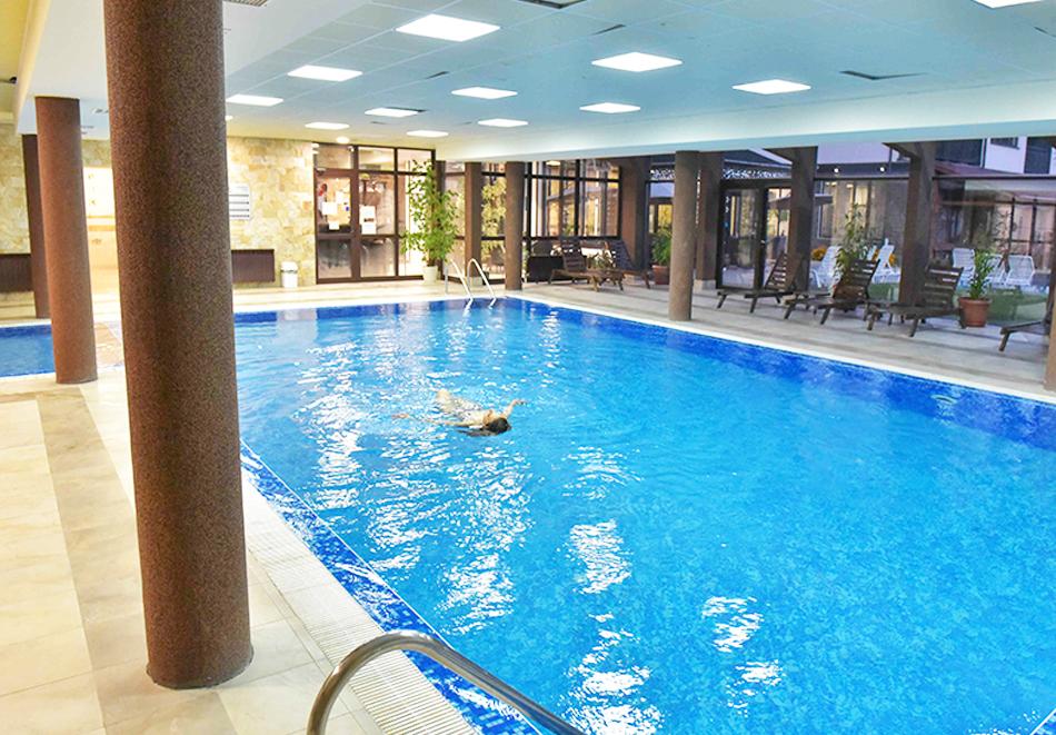 Нощувка на човек със закуска или закуска и вечеря по избор + басейн и релакс център в хотел Роял Банско Апартмънтс, Банско, снимка 8