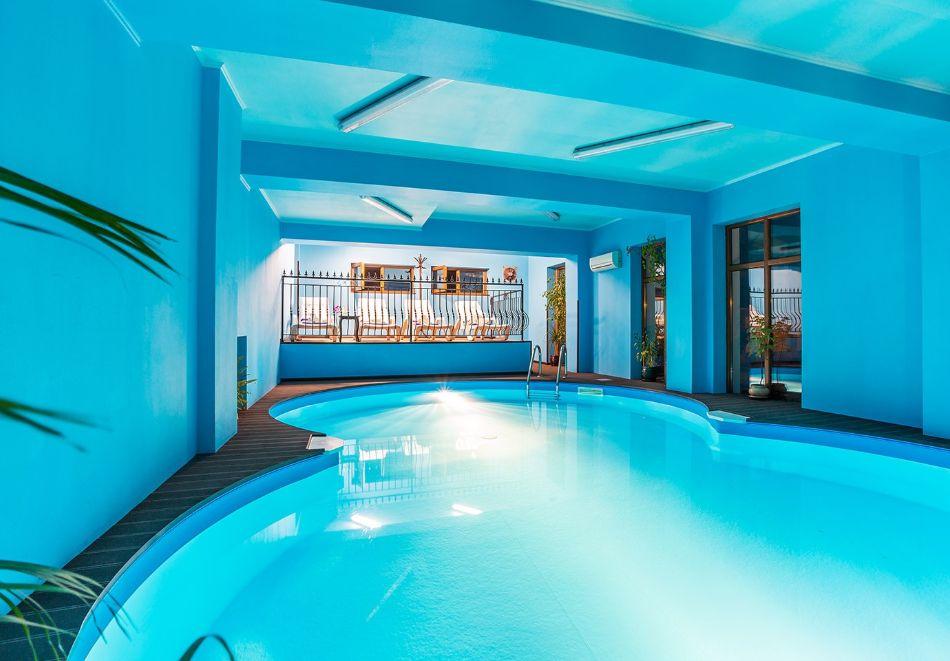 Нощувка на човек със закуска и вечеря + топъл басейн в хотел Шато Монтан, Троян, снимка 4
