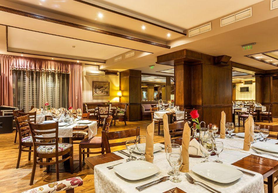 Нощувка на човек със закуска и вечеря + топъл басейн в хотел Шато Монтан, Троян, снимка 13