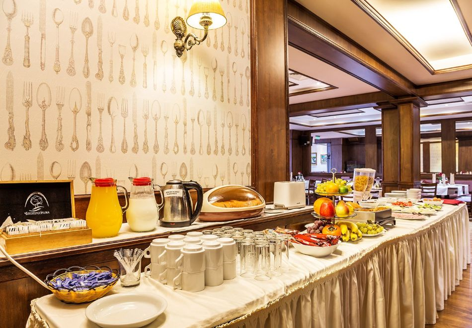 Нощувка на човек със закуска и вечеря + топъл басейн в хотел Шато Монтан, Троян, снимка 14