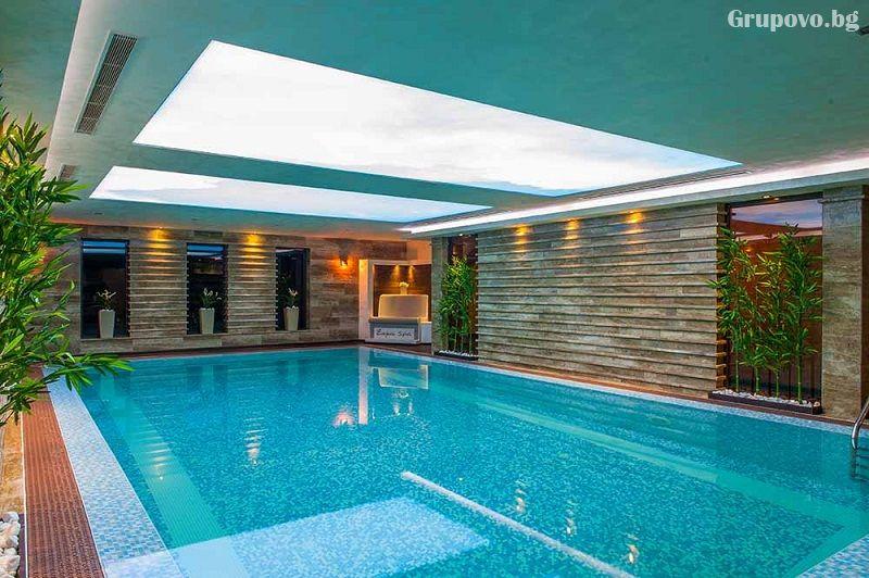 2+ нощувки на човек със закуски и вечери + 2 минерални басейна + външно горещо джакузи + СПА пакет в хотел Езерец, Благоевград, снимка 6