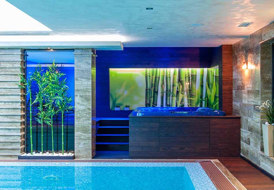 Нощувка на човек със закуска и вечеря + 2 минерални басейна + външно горещо джакузи + СПА пакет в хотел Езерец, Благоевград, снимка 8