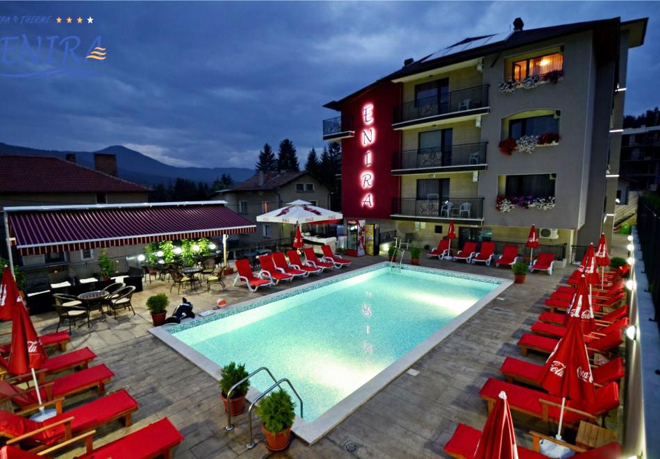 Почивка в хотел Енира****, Велинград! Нощувка на човек със закуска и вечеря + открит и закрит минерален басейн и релакс пакет, снимка 4