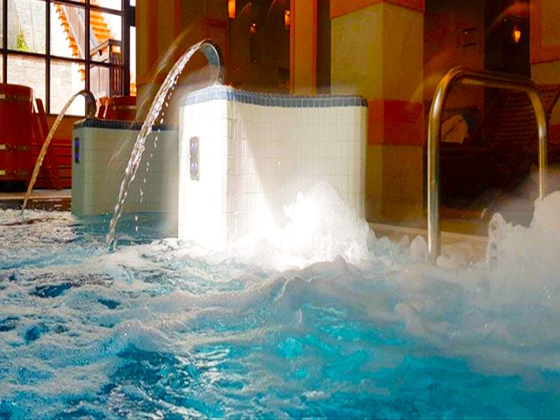 Великден в Банско! 2, 3 или 4 нощувки на човек със закуски и вечери, празничен обяд* + топъл басейн и СПА зона в хотел 7 Пулс & СПА Апартмънтс, снимка 3