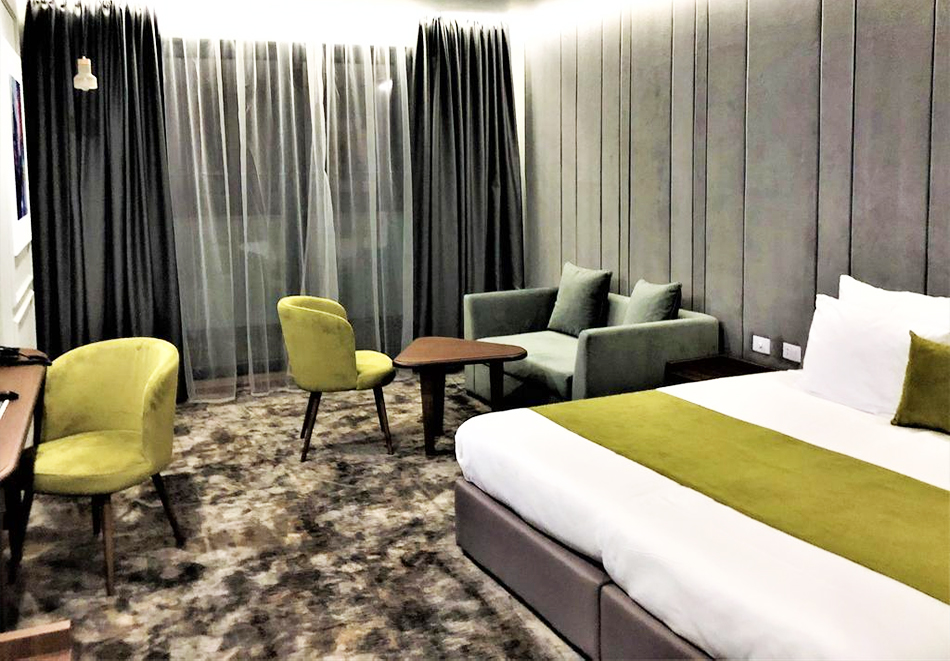 Нощувка на човек със закуска и вечеря + минерален басейн и СПА пакет в хотел Медите СПА Резорт*****, Сандански, снимка 14