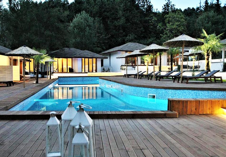 Нощувка на човек със закуска и вечеря + минерален басейн и СПА пакет в хотел Медите СПА Резорт*****, Сандански, снимка 7