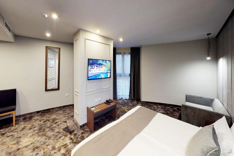 Нощувка на човек със закуска и вечеря + минерален басейн и СПА пакет в хотел Медите СПА Резорт*****, Сандански, снимка 13