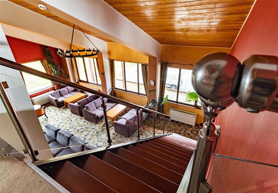 Нощувка на човек със закуска и вечеря + релакс зона и басейн в хотел Бор, Семково, снимка 20