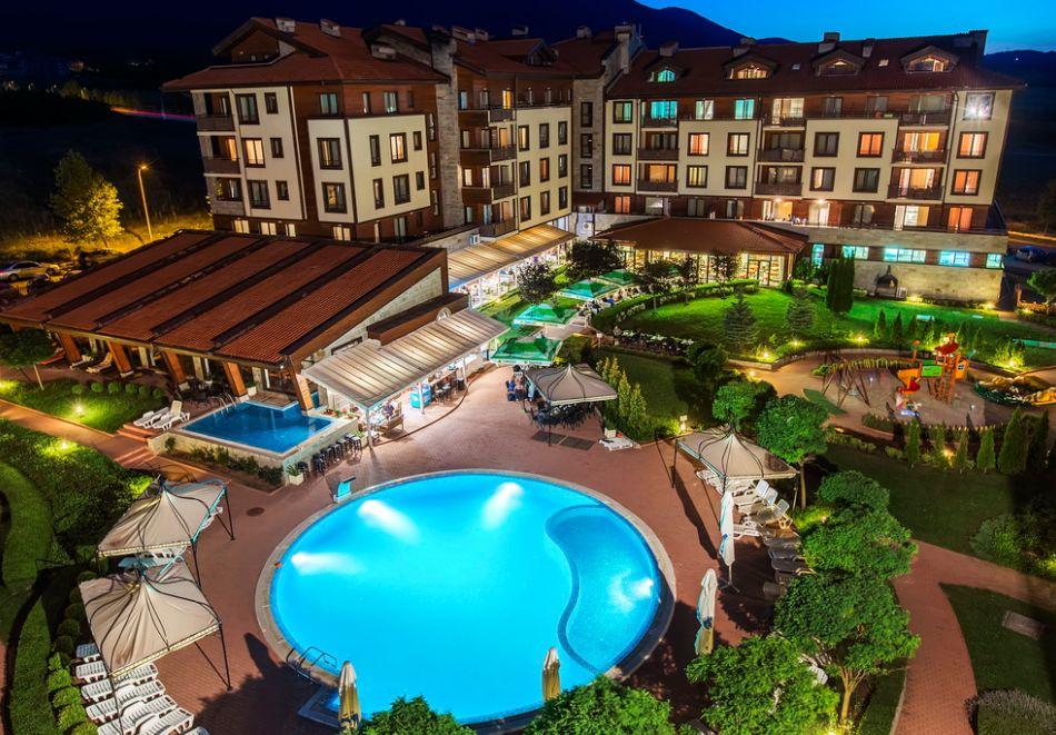 Нощувка на човек със закуска + вътрешен отопляем басейн и СПА зона от Мурите Клуб Хотел, до Банско, снимка 26