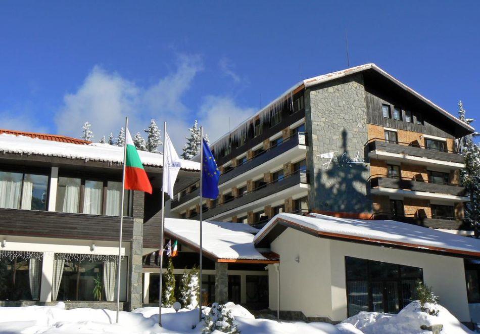 На ски в Пампорово. Нощувка на човек със закуска и вечеря в хотел Финландия****, снимка 7