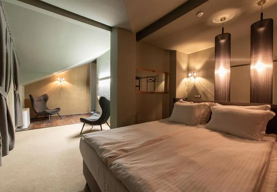 2+ нощувки на човек със закуска + басейн и уелнес център  в бутиков хотел Орес*****, Банско! 6=7 нощувки, снимка 9