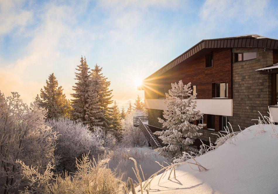 Нощувка със закуска за ДВАМА или ЧЕТИРИМА + СПА зона от хотел Морени****, Витоша, снимка 5